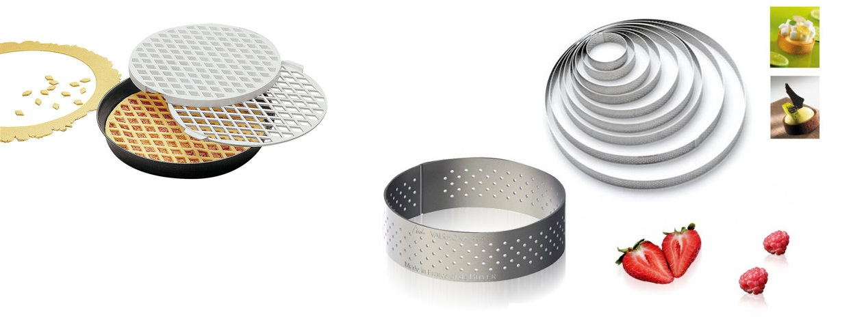 BAKEWARE, RINGS AND MOULDS