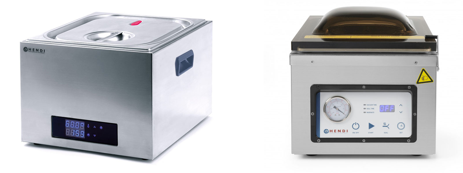 SOUS VIDE - VACUUM PACKING MACHINES