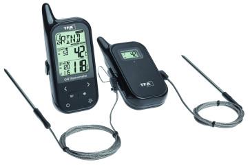 Termometro senza fili per forno e barbecue CHEF TWIN di TFA