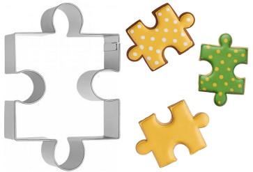 Tagliapasta Stampo Puzzle grande in inox