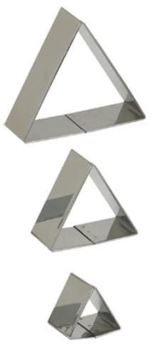 Set 3 tagliapasta inox Triangolo