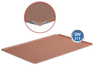 Teglia forata in alluminio rivestimento in silicone