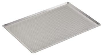 Teglia alluminio fondo Microforato