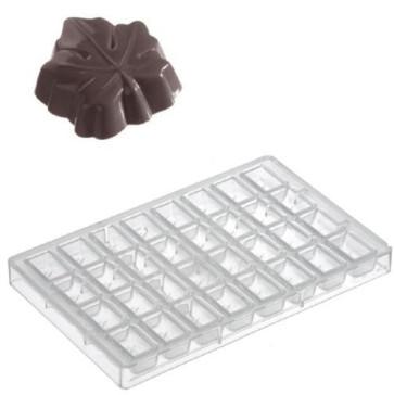 Stampo in policarbonato per cioccolatino Foglia di Vite di Schneider