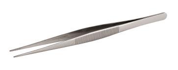 Pinza retta punta fine in inox per chef cm. 16