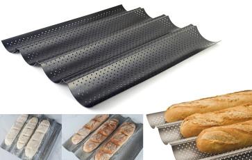 Teglia forata per Baguettes Antiaderente