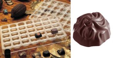 Stampo in policarbonato per cioccolatino Mary