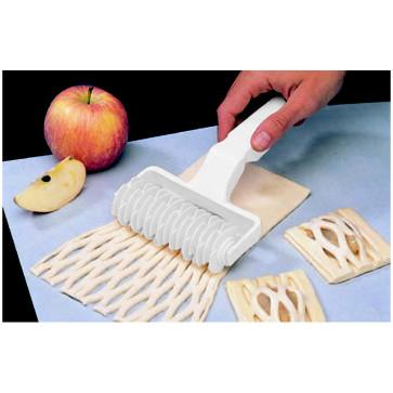 Rullo losanghe in resina bianco grande