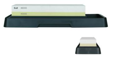 Pietra per affilare combinata con vaschetta Grana 3000/6000