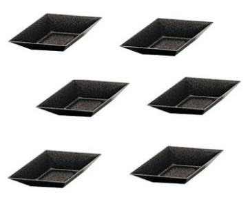 Set 6 Mini tartellette antiaderenti a forma di rombo