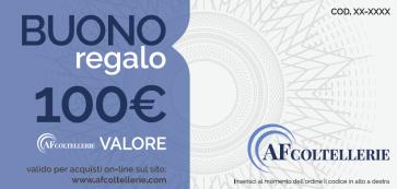 Buono Regalo - Gift Card Valore € 100,00