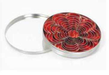 Set 10 tagliapasta a forma fiore in inox