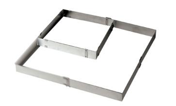 Telaio Quadrato Regolabile in acciaio inox