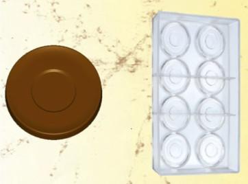 Stampo in policarbonato Piattino