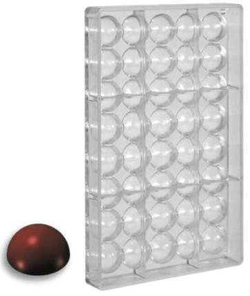 Stampo per cioccolato in policarbonato Semisfera