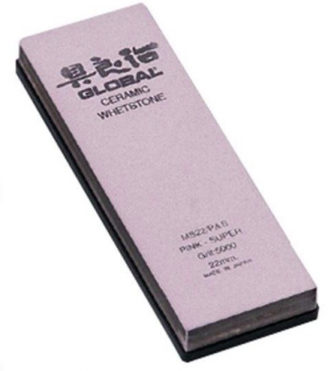 Pietra per affilare in ceramica professionale Grana 5000 di Global