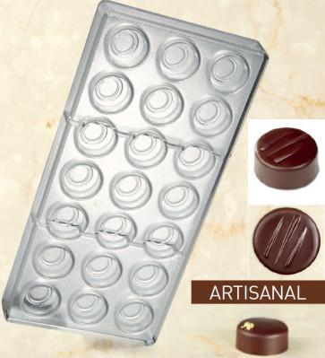 Stampo in policarbonato per cioccolato Forchettina