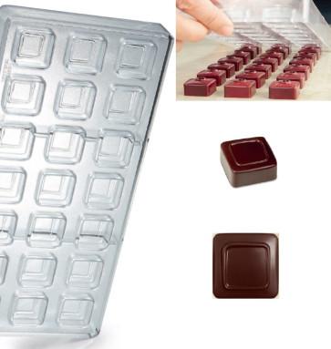 Stampo in policarbonato per cioccolato