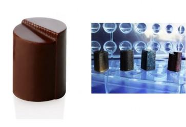 Stampo in policarbonato per 24 praline linea Innovation Tondo