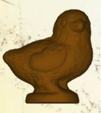 Stampo in policarbonato Pulcino di cioccolato