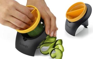 Temperino per taglio verdure con salvadita  di Triangle