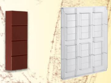 Stampo in policarbonato Barretta di cioccolato 150 grammi
