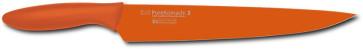 Coltello trinciante stretto affettare lama cm. 22,5 Arancione Serie Pure Komachi 2 di Kai