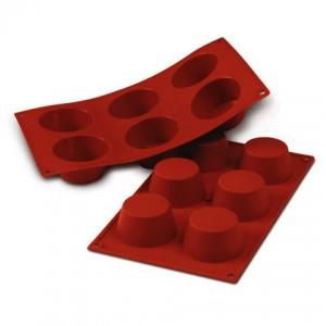 Stampo flessibile in silicone Muffin medio
