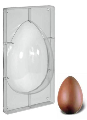 Stampo in policarbonato per uova di Pasqua 600 gr