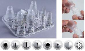 Set 8 bocchette assortite + 5 accessori