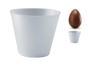 Confezione 5 porta uova di Pasqua in plastica piccoli