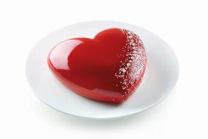 Stampo in silicone cuore Batticuore di Silikomart Professional