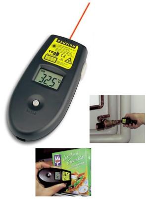 Termometro a raggi infrarossi con laser TFA