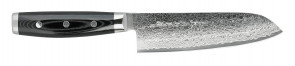Coltello damasco Santoku cm. 16,5 Serie GOU 101 di Yaxell