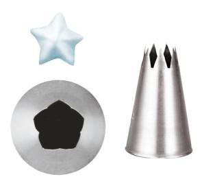 Bocchetta foro a stella 5 punte
