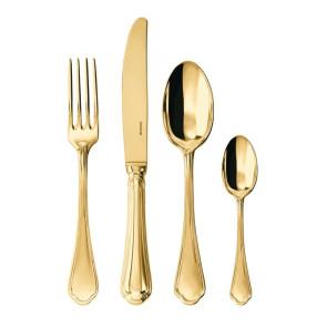 Servizio di 24 Posate Filet Toiras Gold PVD di Sambonet