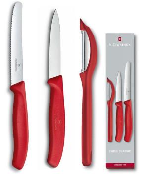 Set 3 pezzi per la cucina Swiss Classic Rosso di Victorinox