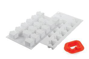 Puzzle30: stampo in silicone di Silikomart