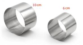 anelli in acciaio inox