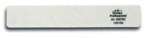 Lima bianca Professional per unghie delle mani e piedi rettangolare 100-180