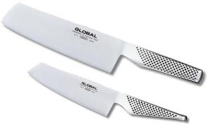 coltelli da verdure di Global G5 e GS5