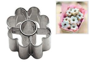 TAGLIAPASTA CANESTRELLO forma biscotti pasticceria dolci acciaio cake design