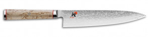 Coltello damasco 101 strati Gyutoh lama cm. 20 Serie Miyabi 5000 MCD