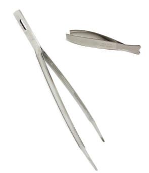 Pinza Chef e Pinza Pesce in acciaio inox