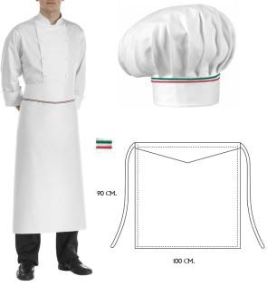 Set Cappello e grembiule cuoco Princes