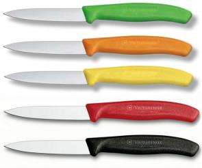 Cinque Spelucchini Victorinox Colors: verde, arancio, giallo, rosso, nero