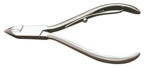 Tronchese inox per pelli manico corto lunghezza taglio mm. 5