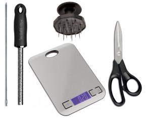 Kit Accessori lavorazione norcino per produzione di salumi e insaccati
