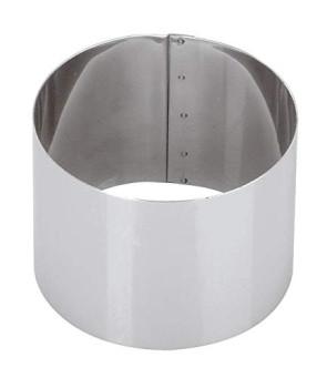 Anello per torte, mousse e timballi Diametro cm. 10 Altezza cm. 6