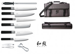 in ferro battuto con ganci a S rimovibili Portautensili da cucina con 6 ganci Gourmet 40,6 cm Black-6 Hooks